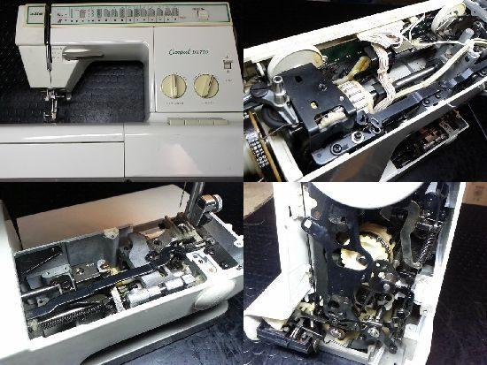ブラザーCompalDX759のミシン修理