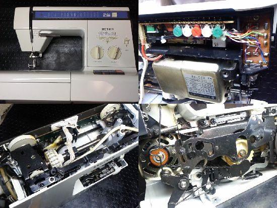 ブラザーZZ3-B765のミシン修理