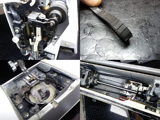 MemoryCraft6000のジャノメミシン修理