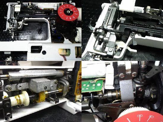 シンガー6280のミシン修理