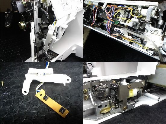 JUKIミシンHZL-7800の修理