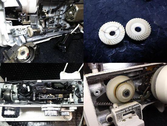 トピアレーヌ804のジャノメミシン修理