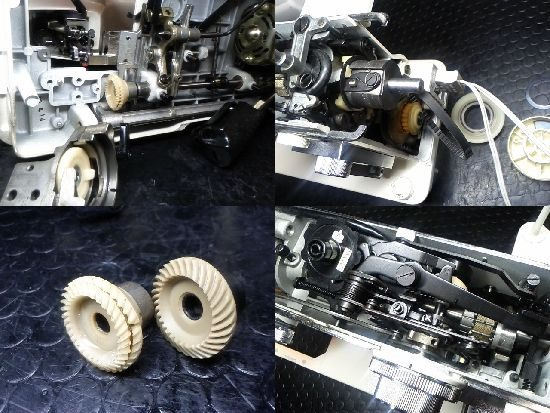 JANOMEトピアレーヌ804のミシン修理