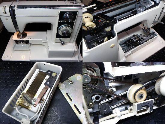 ジャノメエクセル813のミシン修理