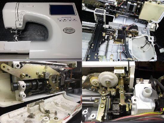 ジャノメSECIO9000EXのミシン修理