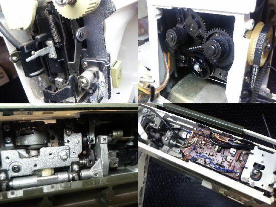 リッカーMightyB3のミシン修理