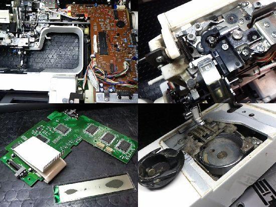 ブラザーZZ3-B893のミシン修理