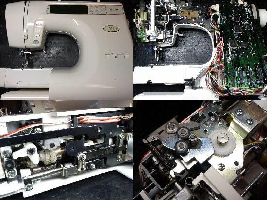 ブラザーZZ3-B896のミシン修理