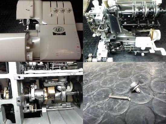 衣縫人BL35のミシン修理
