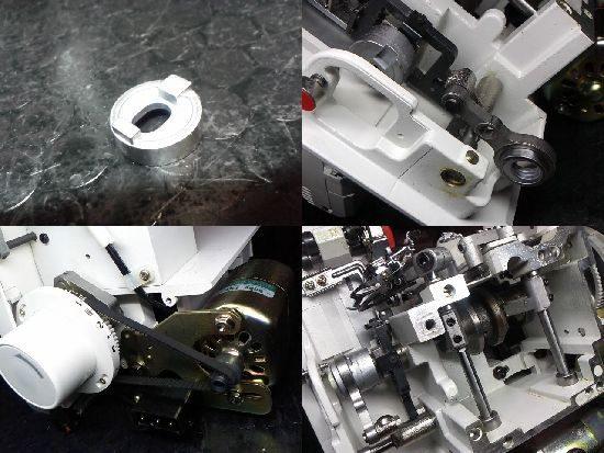 ジューキベビーロックBL3-500のミシン修理