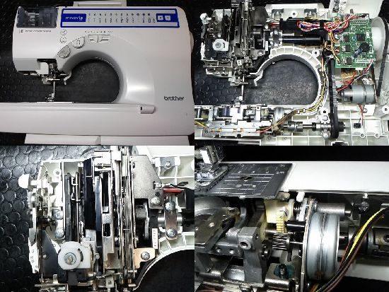 BrotherイノヴィスS55のミシン修理