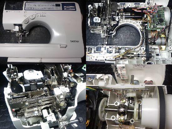 ブラザーInnovisC61のミシン修理