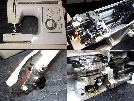 クラフテリアデラックスのトヨタミシン修理