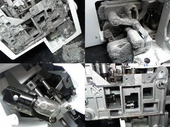 ブラザーL0S04ミシン修理