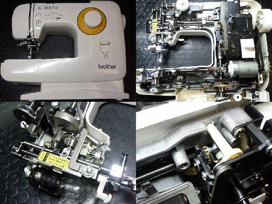 ブラザーEL132のミシン修理