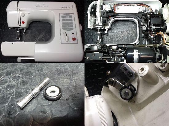 トヨタEM958のミシン修理