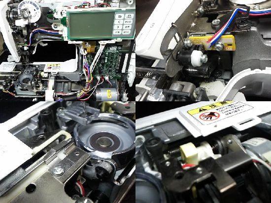 ブラザーEMV40のミシン修理