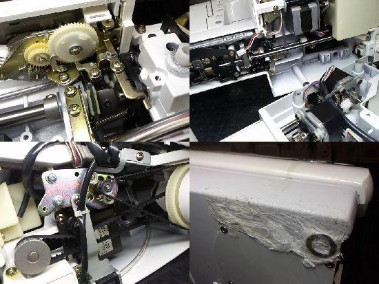 セシオEXのジャノメミシン修理