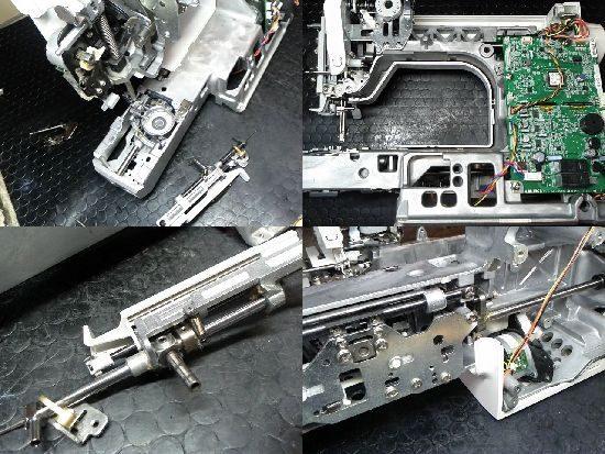 JUKIグレイス100HZL-G100のミシン修理
