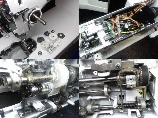 ジャノメHS-75DBのミシン修理