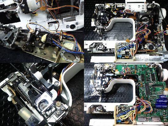 JUKIミシンHZL-9900の修理