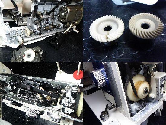 ジャノメトピア804のミシン修理