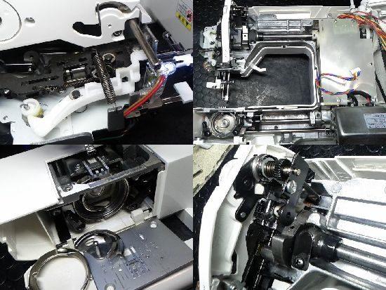ジャガーKC-200のミシン修理