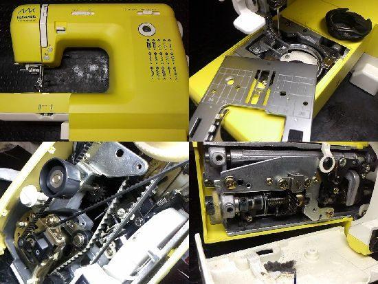 ジャノメKURAIMUKIミシン修理KM2002