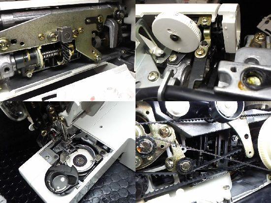 ジャノメLavieenEX4250のミシン修理