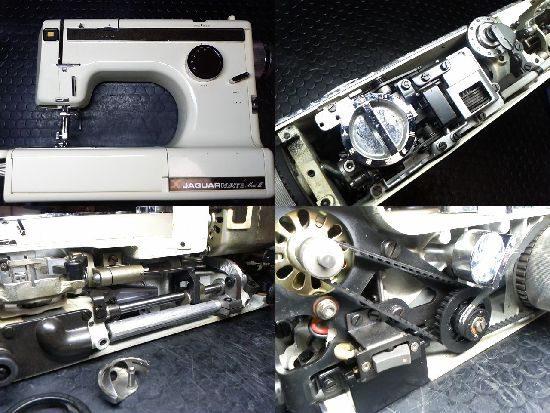JaguarMATEmarkⅢのミシン修理