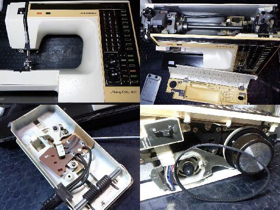 MemoryCraft6000のJANOMEミシン修理