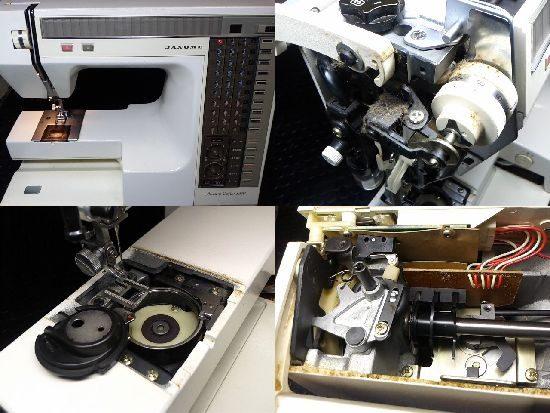 ジャノメMemoryCraft6500のミシン修理