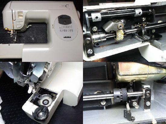 JUKIミシンHZL-656のミシン修理