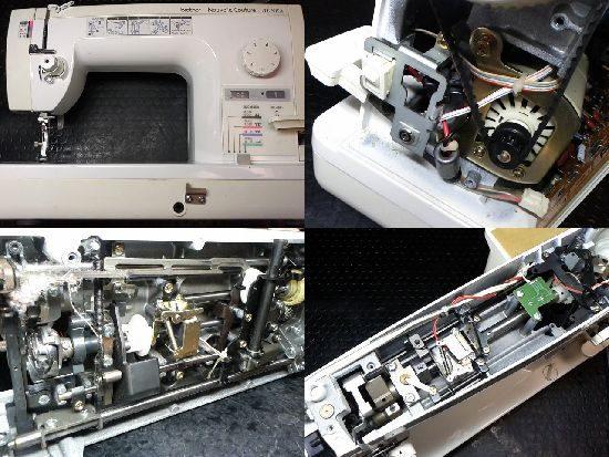 BrotehrミシンTA635の修理