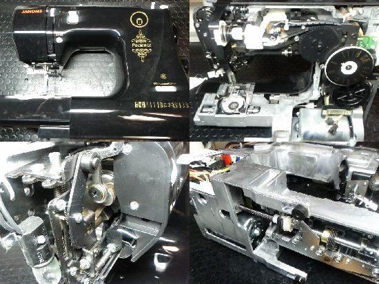 ジャノメPaciente660のミシン修理