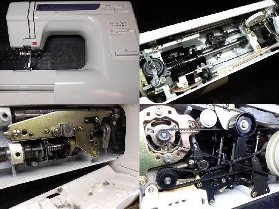 ジャノメPlaire900のミシン修理