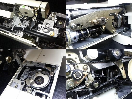 ジャノメS6060のミシン修理