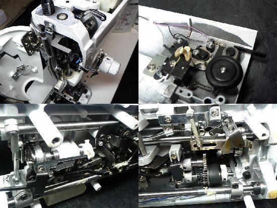 JUKI職業用ミシンSL-300EXのミシン修理