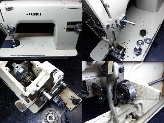 JUKIミシンTL-72の修理