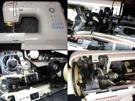 JANOMEアニュドールY707のミシン修理