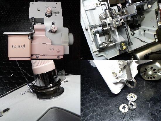 ベビーロックBL2-205Aのミシン修理
