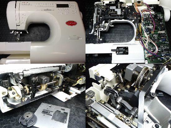 シンガーアプリコット9780のミシン修理