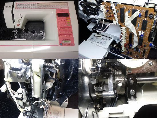 BrotherミシンZZ3-B852のミシン修理