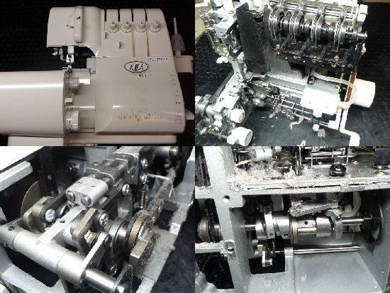 ベビーロックBL551のミシン修理