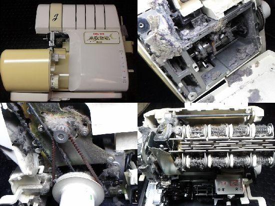 ジューキ糸取物語BL65のミシン修理