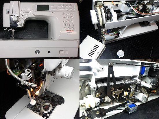 ジャノメCK1000のミシン修理