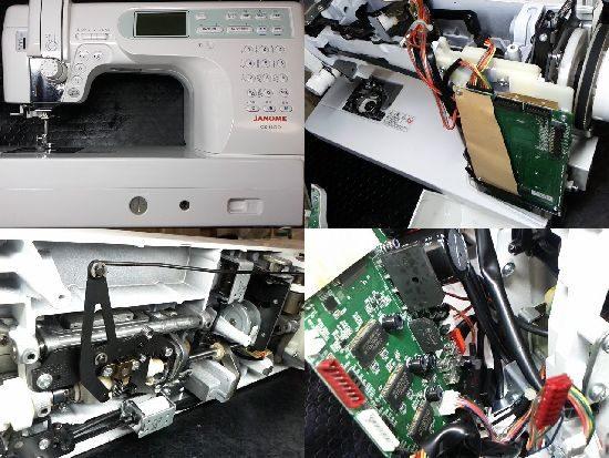 ジャノメCK1100のミシン修理
