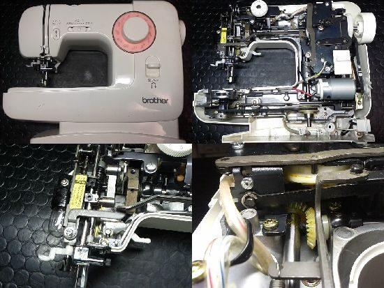 ブラザーEL135のミシン修理