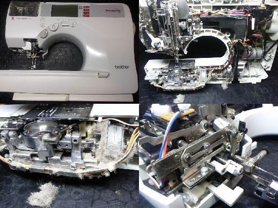 BrotherイノヴィスN80のミシン修理