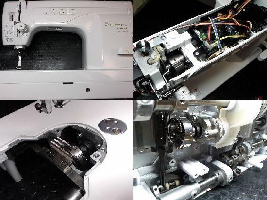 エクシムプロ9400のジューキミシン修理